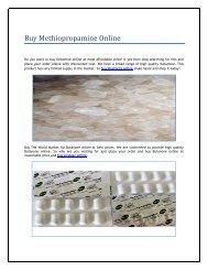 Buy Methiopropamine Online