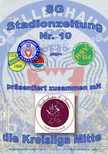 TSV  Stadionzeitung 10-2018-020418-A4