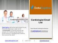 Cardiologist Database   Cardiologists Mailing List   Email Database
