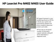 HP LaserJet Pro M402 M403 Tech Support Number