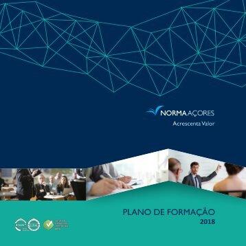 Plano de Formação 2018 - NORMAAÇORES