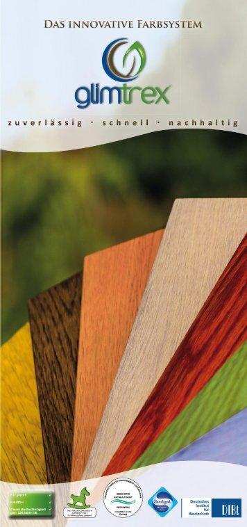 glimtrex Farbsystem Flyer