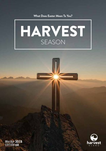 Harvest Season March/April 2018