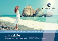 LivingLife - Hotel, Spa und Resort Brochure DE