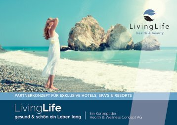 LivingLife - Hotel, Spa und Resort Brochure DE