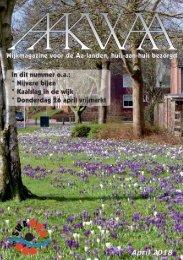 Wijkblad Aakwaa april 2018