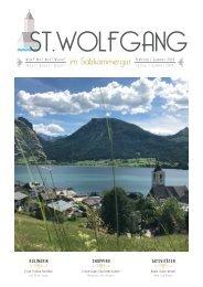 St. Wolfgang Magazin  2018