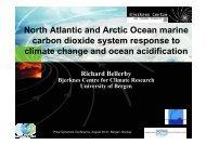 North Atlantic and Arctic Ocean marine carbon dioxide system ...