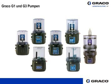 Unterschiede Graco G1+G3 Pumpen