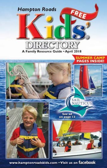 Hampton Roads Kids' Directory: April 2018