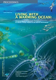 living with a warming ocean - Mediterranean Sea climate and ...