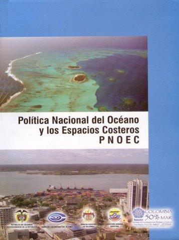 pnoec - Ministerio de Ambiente, Vivienda y Desarrollo Territorial