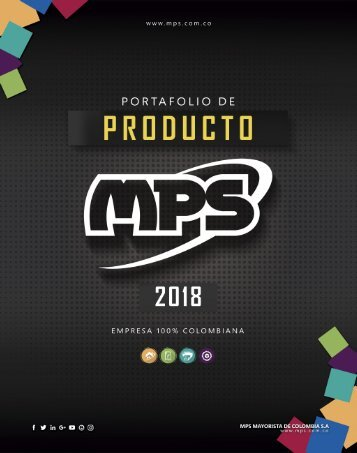 Catalogo MPS 2018