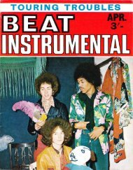 BEAT INSTRUMENTAL • APRIL 1968