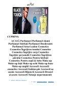 DETALII CUPRINS - PARFUMURI COSMETICE MAKE-UP ACCESORII REMEDII NATURISTE PROMOȚII CATALOG - Page 6