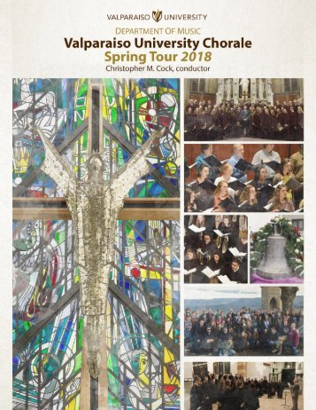 Chorale Spring Tour 2018