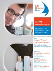 Neuer Trend: Cosmeceuticals - Life Science Nord