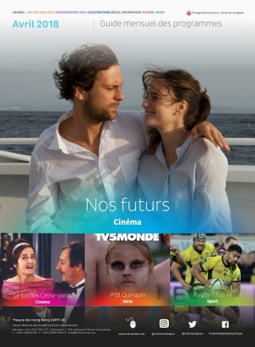 Guide des Programmes TV5MONDE Asie (Avril 2018)