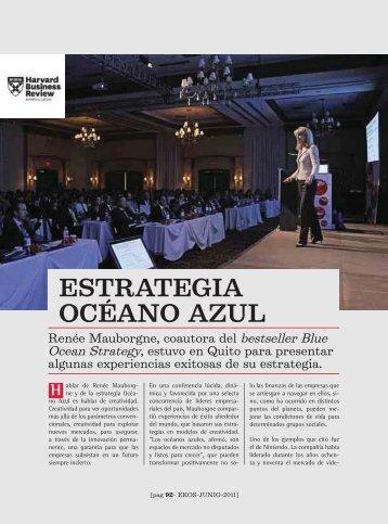 Estraegia Océano Azul - Ekos Negocios