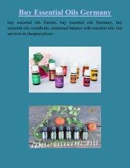 buy essential oils Europe