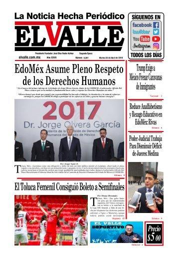 EL VALLE 03-IV-2018