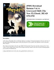 [PDF] Download Batman Vol. 6: Graveyard Shift (The New 52) Ebook | READ ONLINE