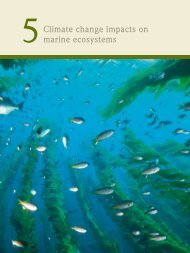 Climate change impacts on marine ecosystems - World Ocean Review