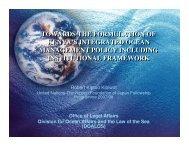 towards the formulation of kenya's integrated ocean management ...
