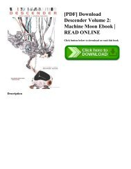 [PDF] Download Descender Volume 2: Machine Moon Ebook | READ ONLINE