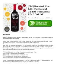 [PDF] Download Wine Folly: The Essential Guide to Wine Ebook | READ ONLINE