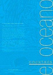cocktails - El Oceano