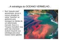 A estratégia do OCEANO VERMELHO - Map5000