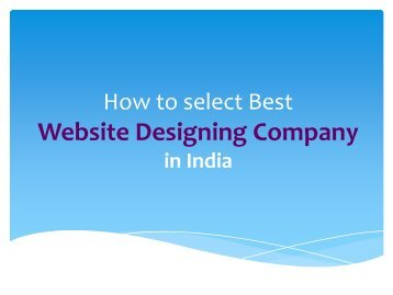 How to hire web development company for your business