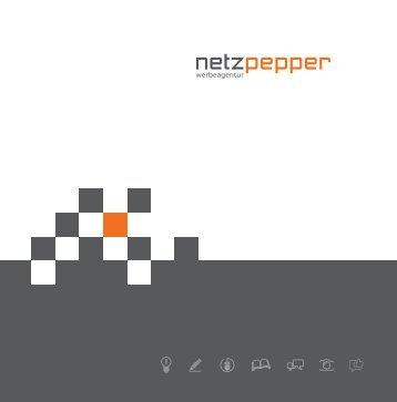 Werbeagentur netzpepper | Imagebroschüre