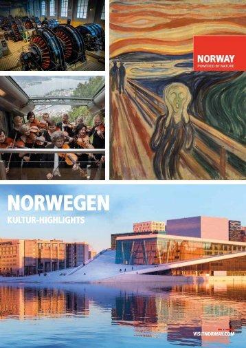 Kultur-Highlights Norwegen 2018