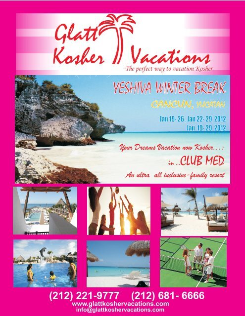 RIVIERA MAYA club med mod 6pag cdr - Glatt Kosher Vacations