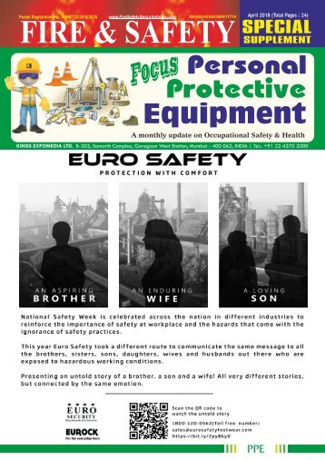 Focus Personal Protective Equipment  April 2018