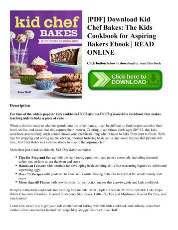 Pdf download half baked harvest cookbook recipes from my barn in pdf download kid chef bakes the kids cookbook for aspiring bakers ebook forumfinder Choice Image