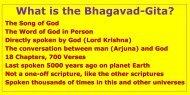 What is the Bhagavad-Gita?