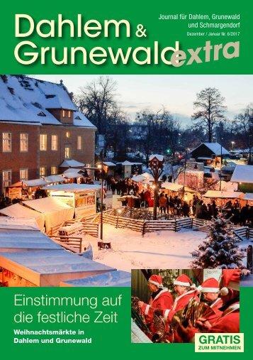 Dahlem & Grunewald extra Nr. 6/2017