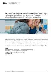 Kurse 2012: Auszug Integrative Pädagogik