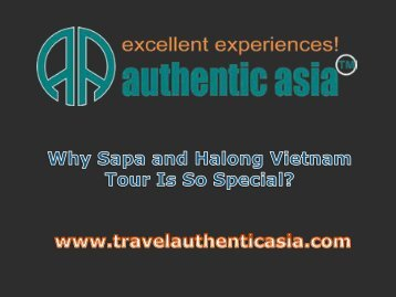 Why Sapa and Halong Vietnam Tour Is So Special