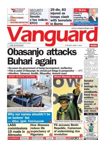 03042018 - Obasanjo attacks Buhari again