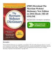 Webster's New World Hacker Dictionary