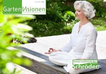 Magazin GartenVisionen | Ausgabe 1/2018