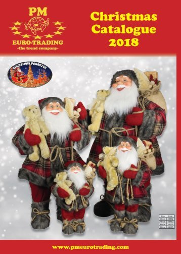 Christmas Catalogue 2018 from PM Euro-Trading GmbH