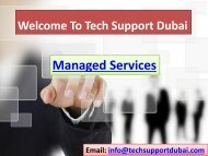 Get The Best Managed Services In Dubai - 0502053269