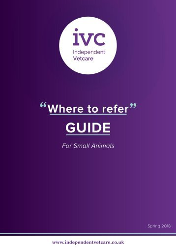 IVC Referral Directory 080318