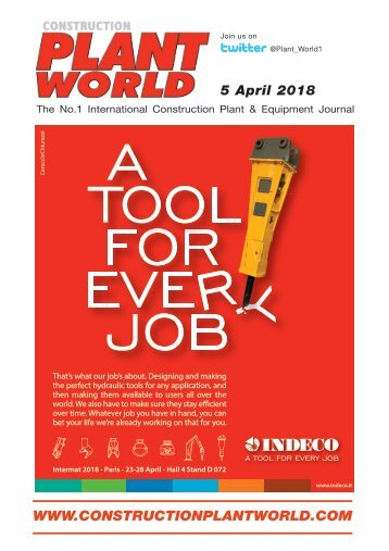 Construction Plant World 5th April 2018