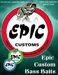 Epic Custom Bass Baits Revised